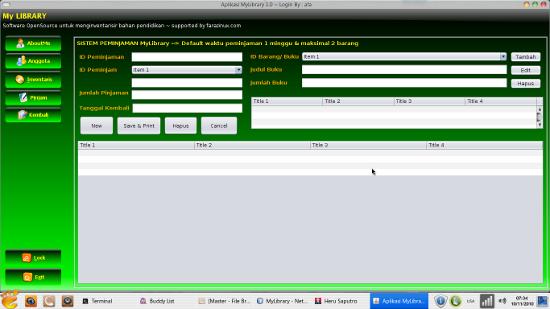 Tutorial Java Netbeans Mysql Aplikasi Sistem Informasi